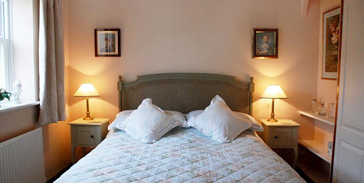 The Bedrooms at Rose Cottage Campden